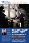 Rutman Lecture: President Trump and the Press, a Conversation w/ Maggie Haberman 7:00 PM to 8:00 PM