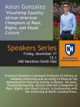 Speakers Series: Aston Gonzalez 12:00 PM to 1:00 PM